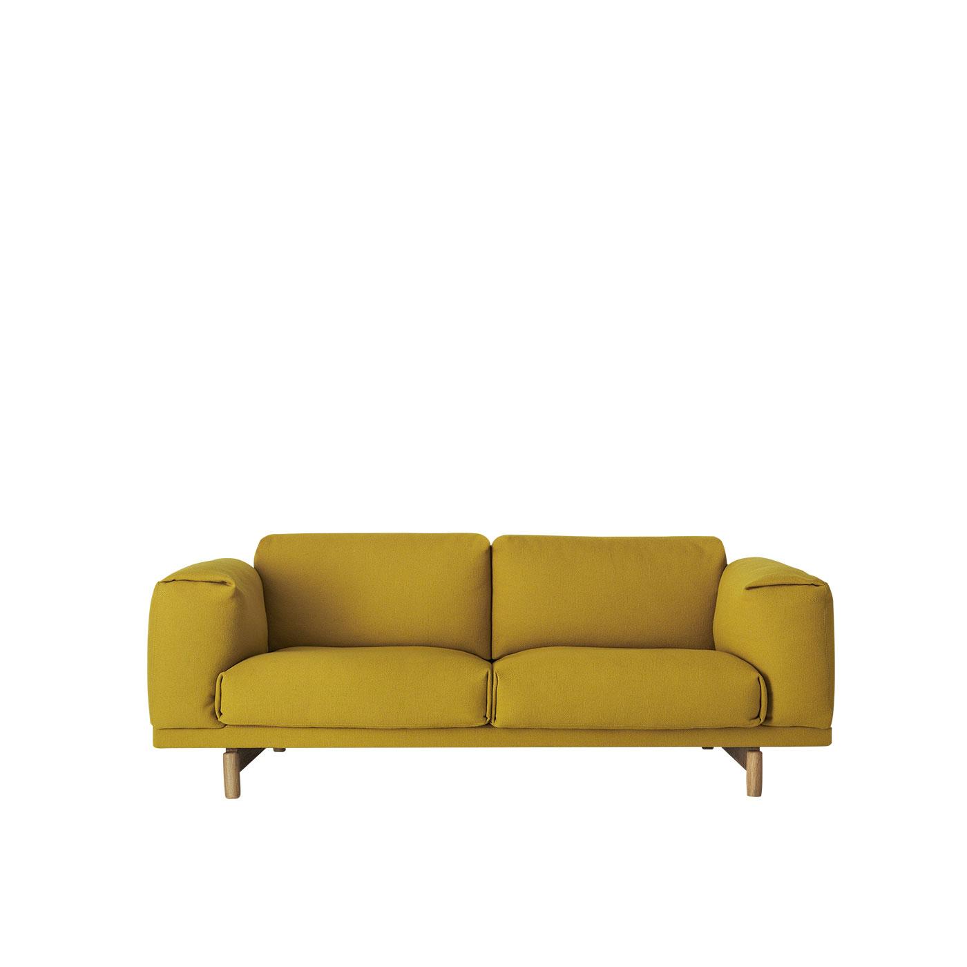 zweisitzer sofa grau. Black Bedroom Furniture Sets. Home Design Ideas