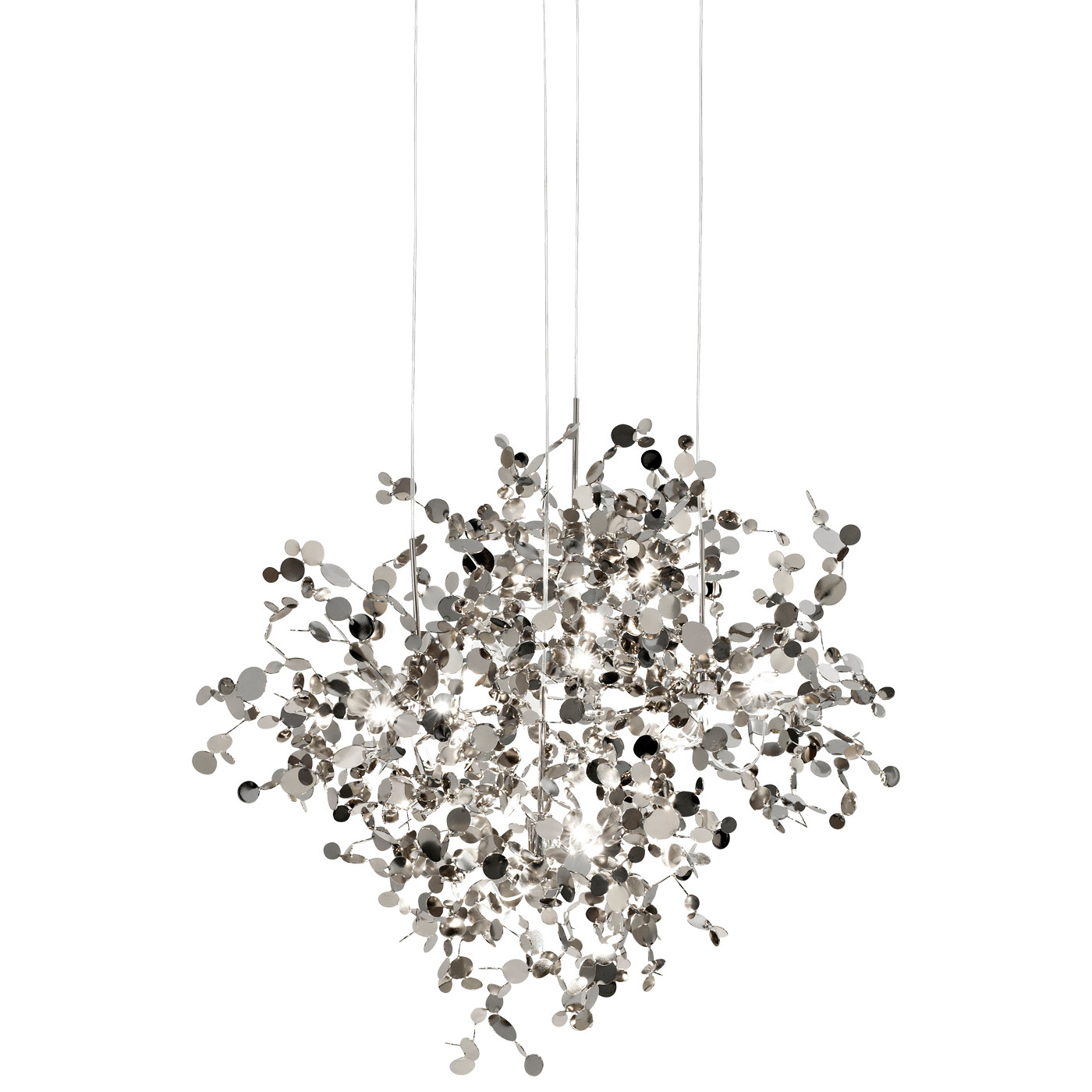 Terzani Argent N91s Pendant Light At