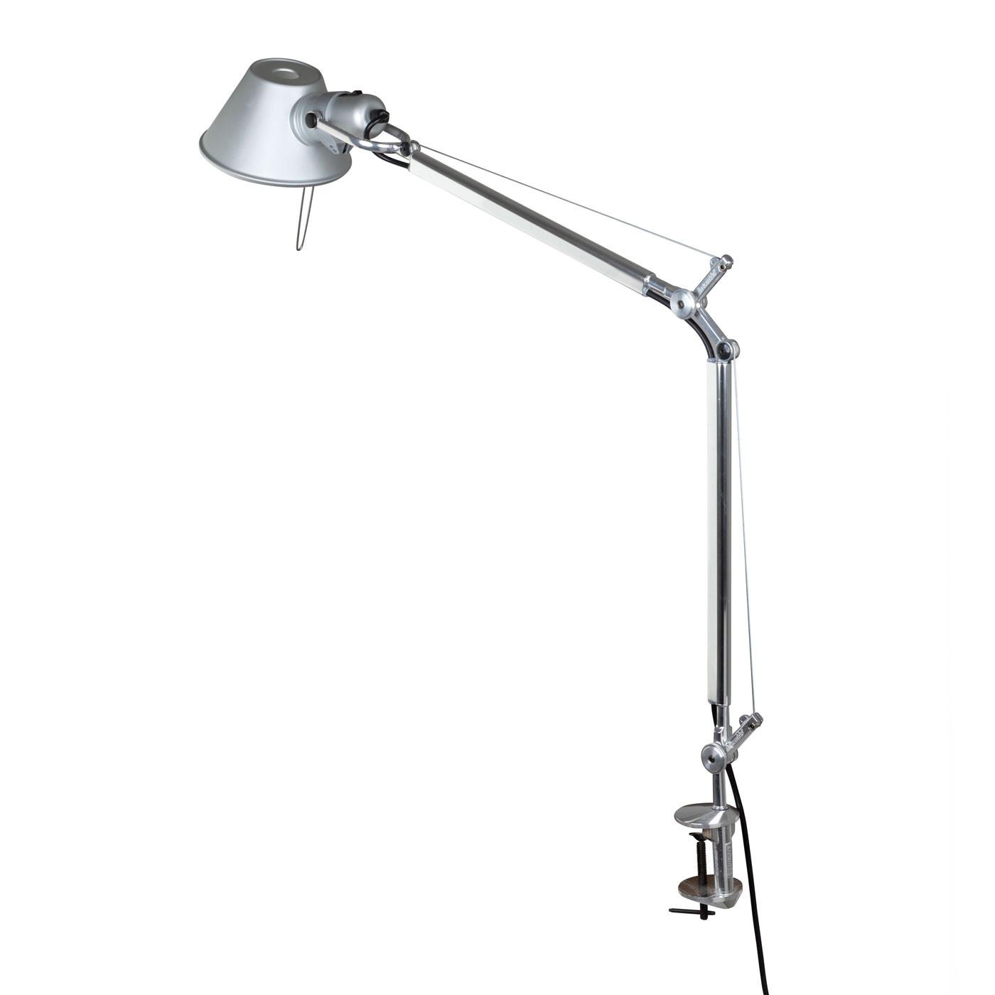 Artemide Tolomeo Midi Tavolo Led Table Lamp With Clamp
