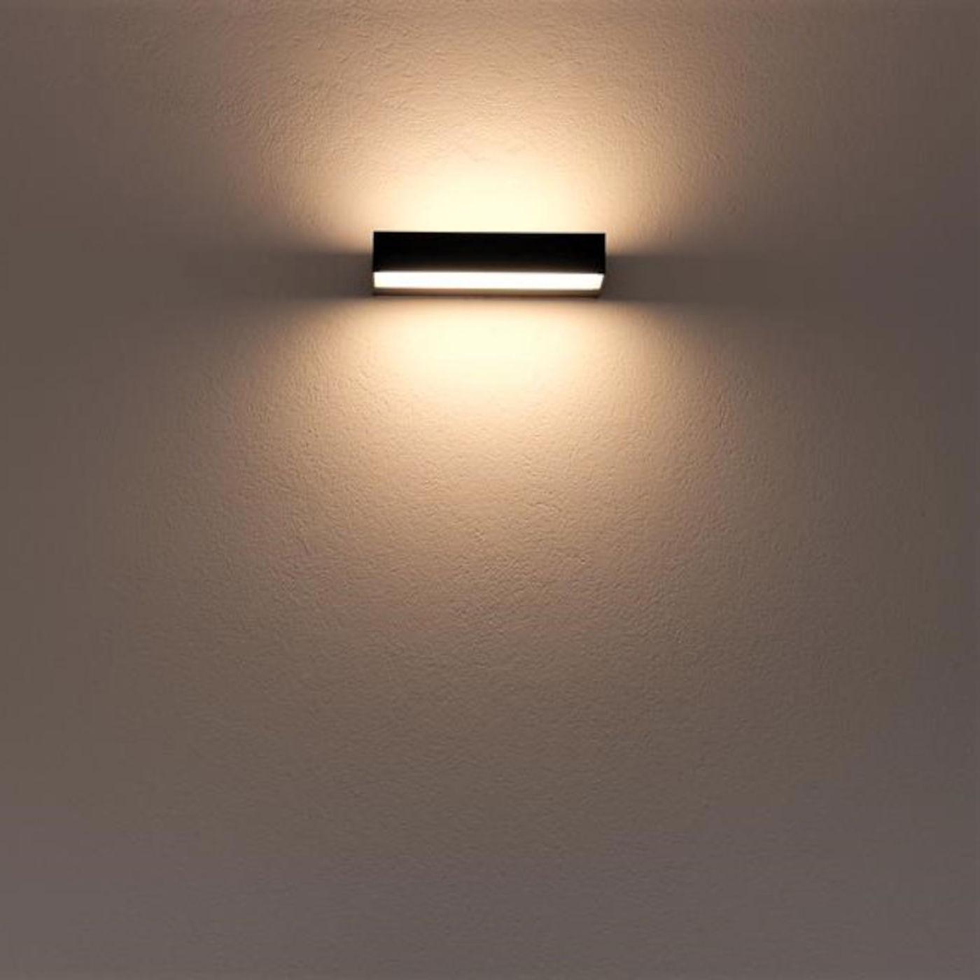 Bega 24473 LED Wandleuchte, eckig, zweiseitig abstrahlend