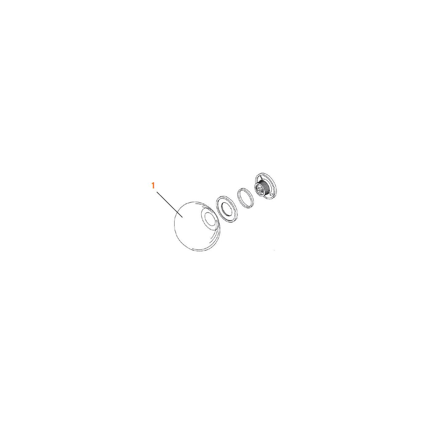 Flos Ersatzteile für Glo-Ball Mini C/W