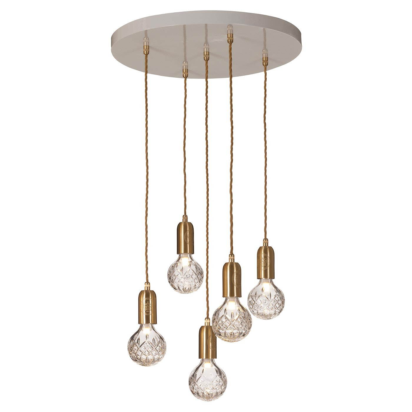 Lee Broom Crystal Bulb 5 Pendelleuchte