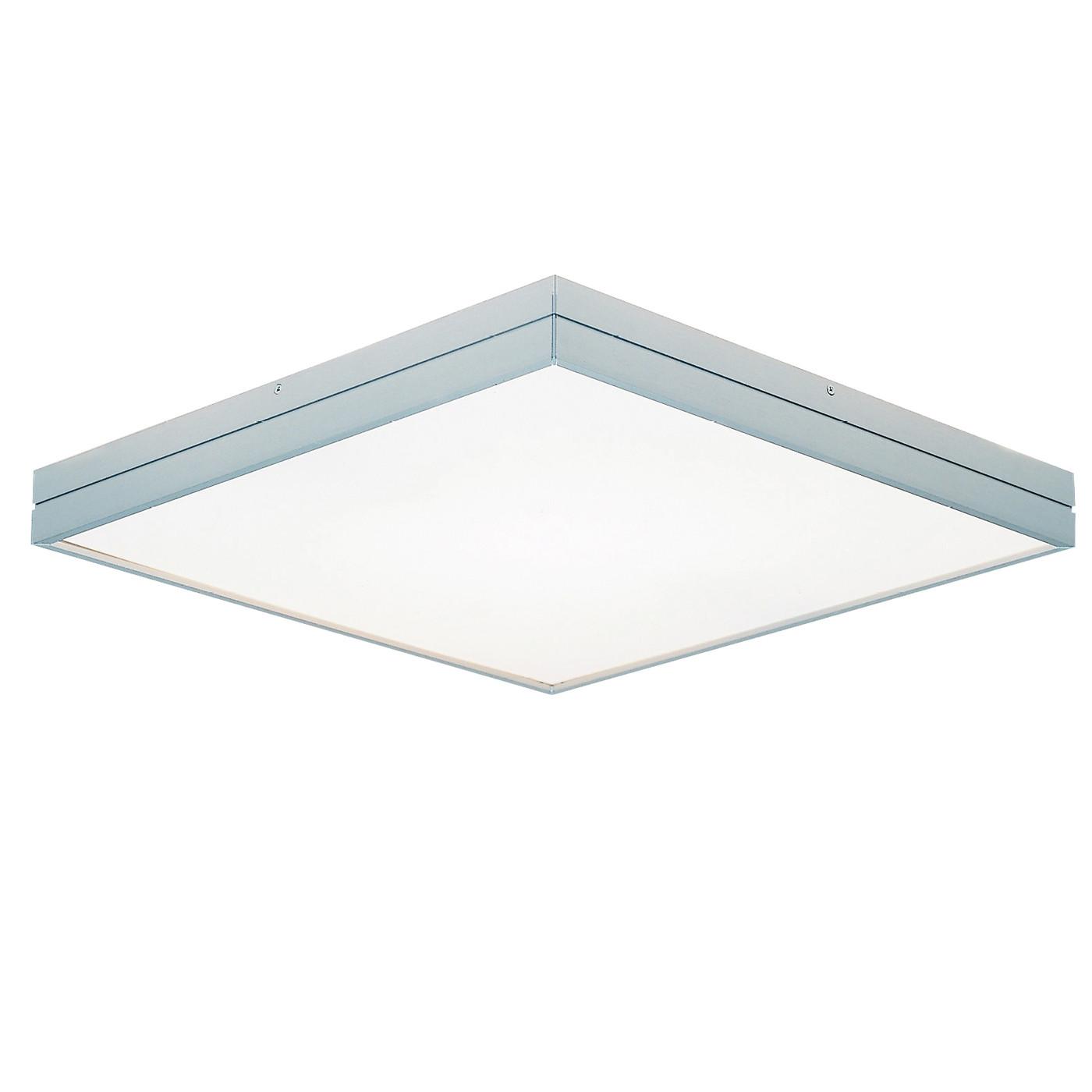 Milan Linea quadratische LED- Deckenleuchte, große Ausführung