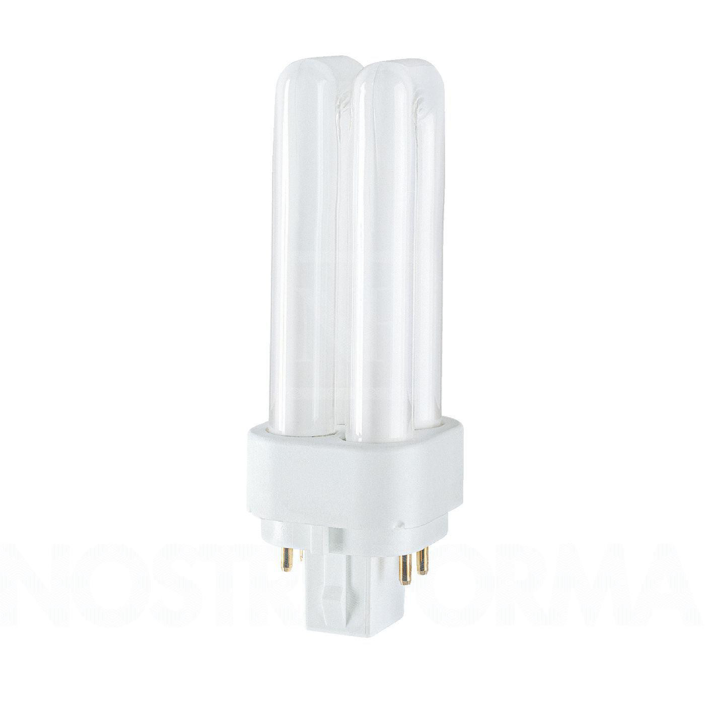 Osram Kompaktleuchtstofflampe Zweifach-Doppelrohr TC-DEL 10W/827 G24q-1 warmweiß extra