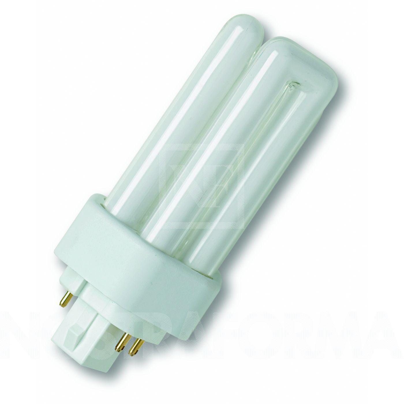 Osram Kompaktleuchtstofflampe Dreifach-Doppelrohr TC-TEL 18W/827 GX24q-2 warmweiß extra