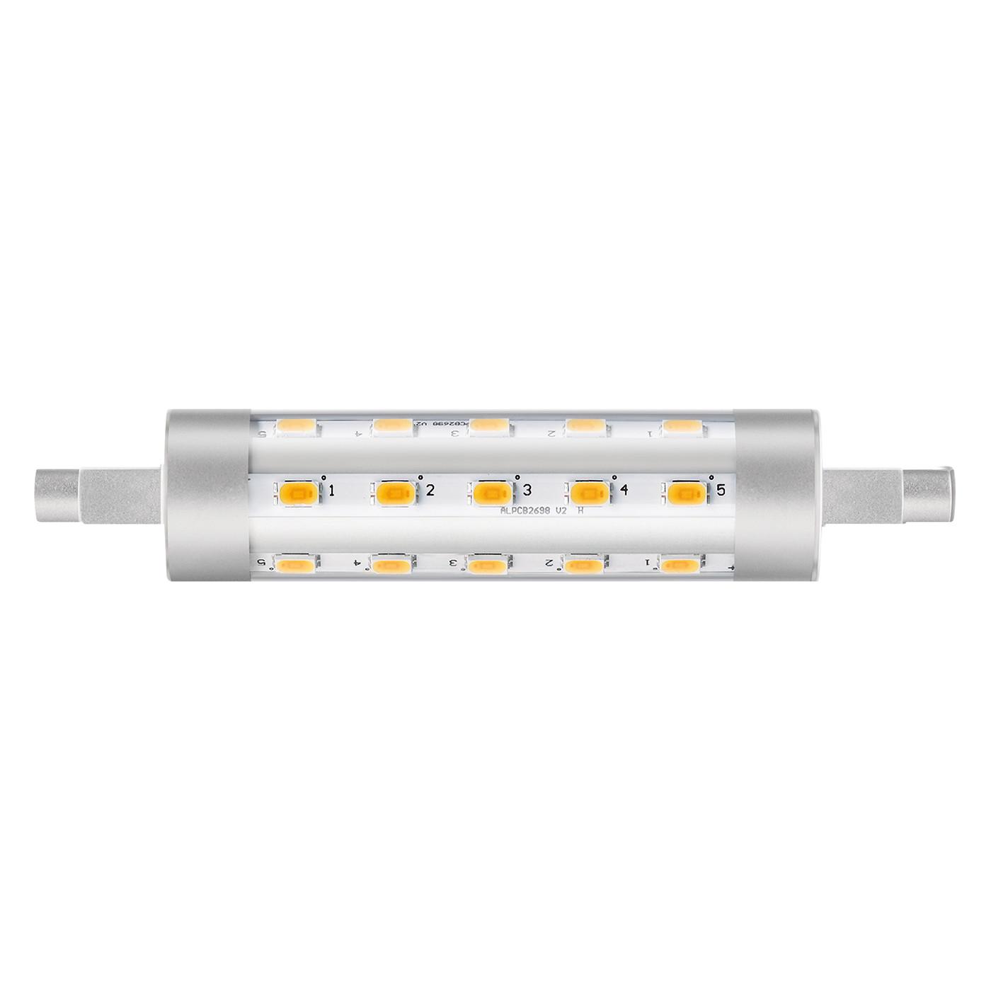 Philips LED-Stablampe 6,5W 3000K 220-240V R7s 118 mm (entspricht der herkömml. 60W Lampe)