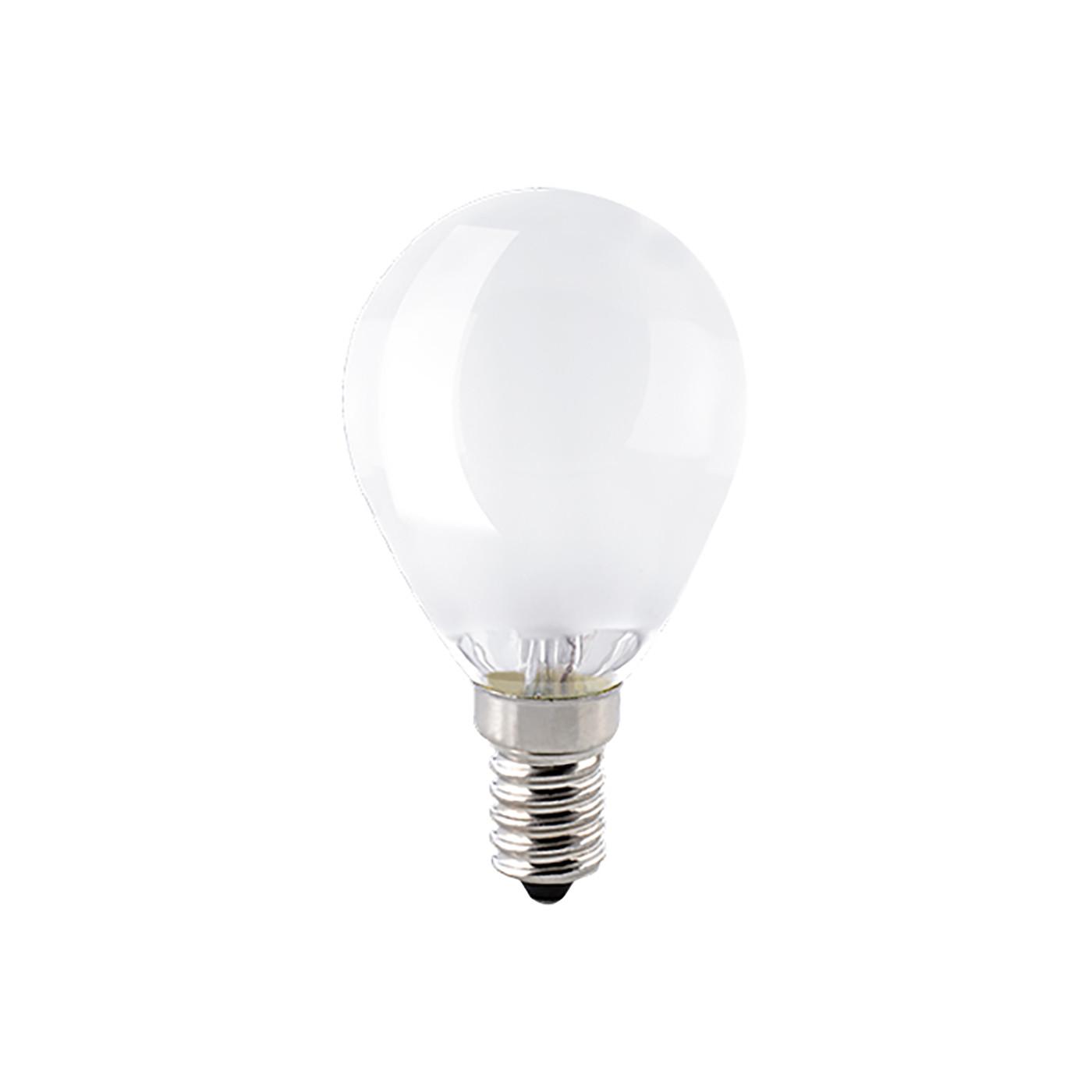 Sigor LED-Filament-Kugellampe P45 4,5W 2700K 230V E14 matt