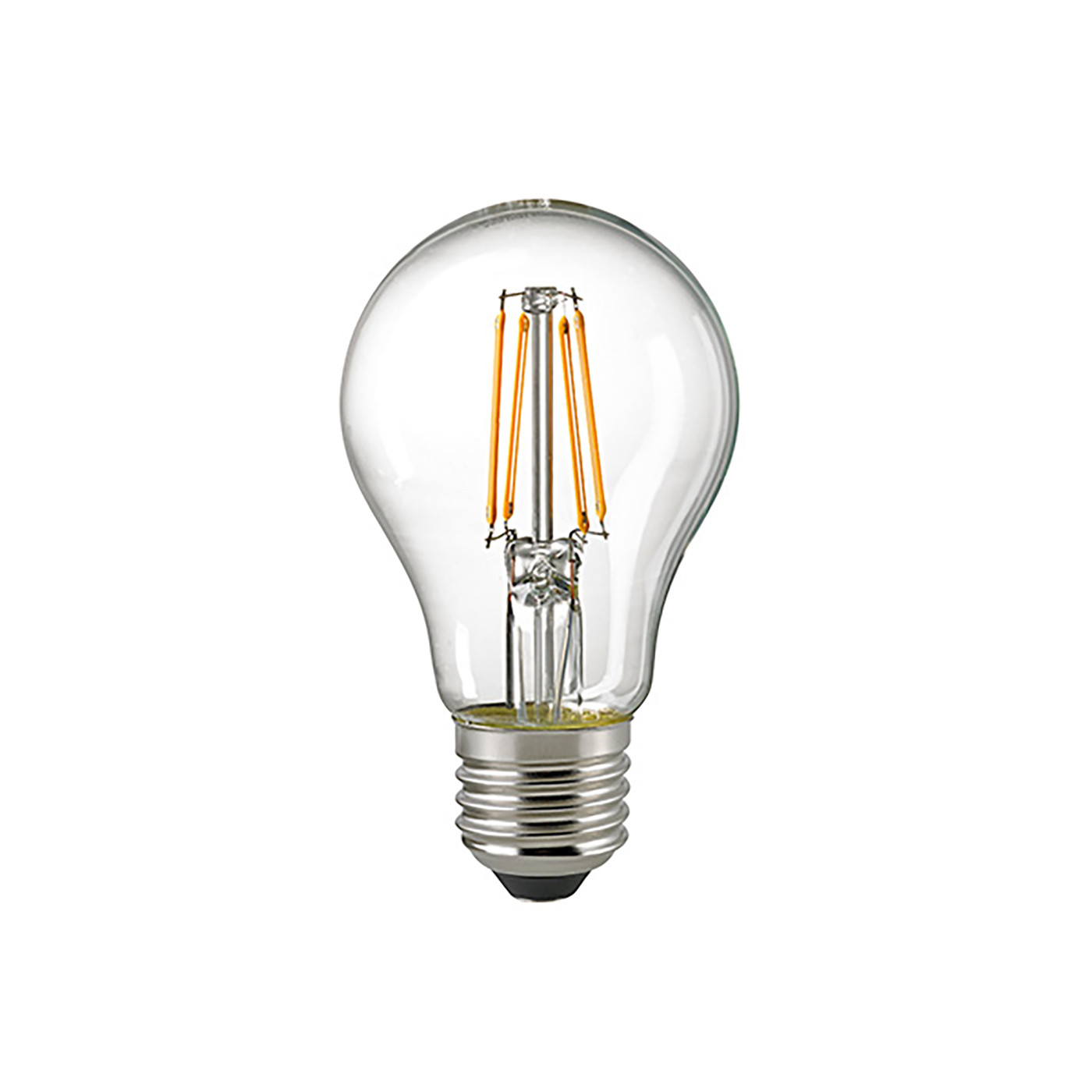 Sigor LED-Filament-Standardlampe A60 8,5W 2700K 230V E27 klar