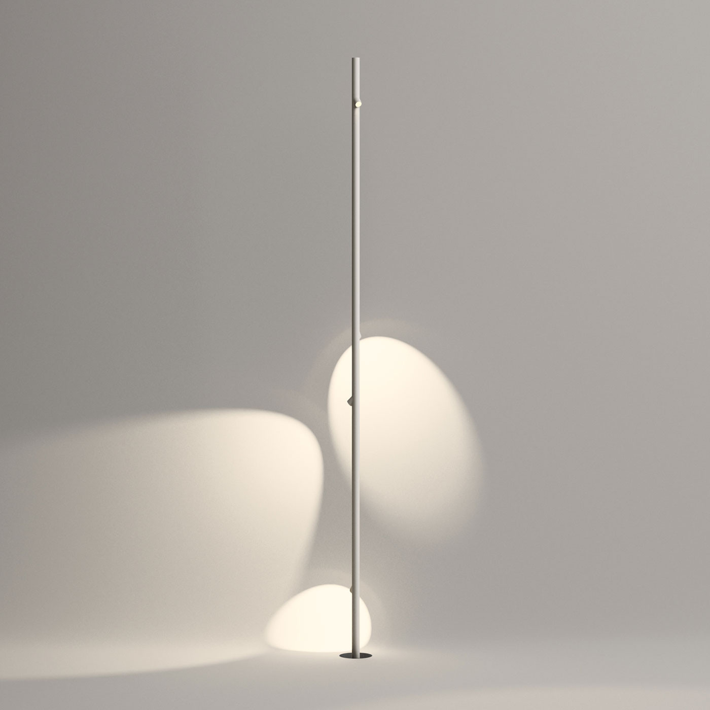 Vibia Bamboo 4805 Floor Lamp With 4 Spotlights