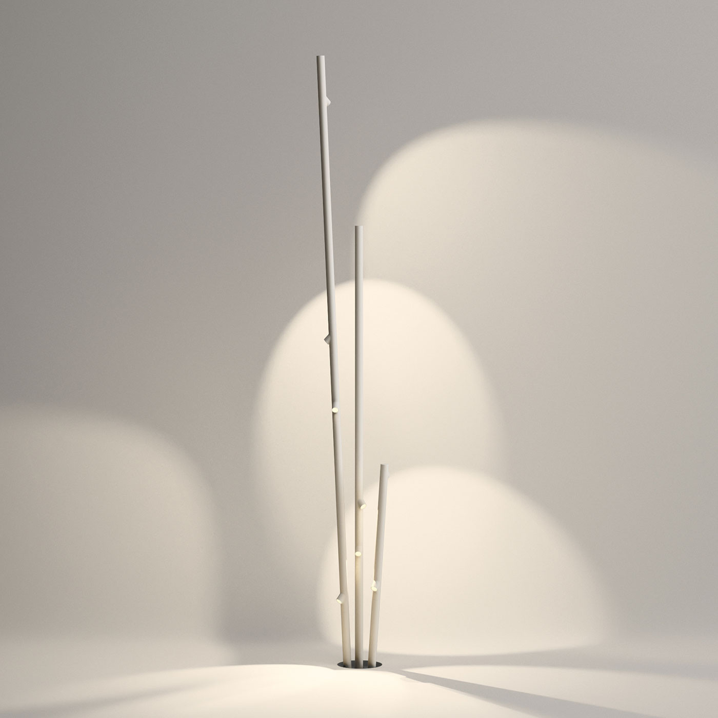 Vibia Bamboo 4812 Outdoor Floor Lamp At