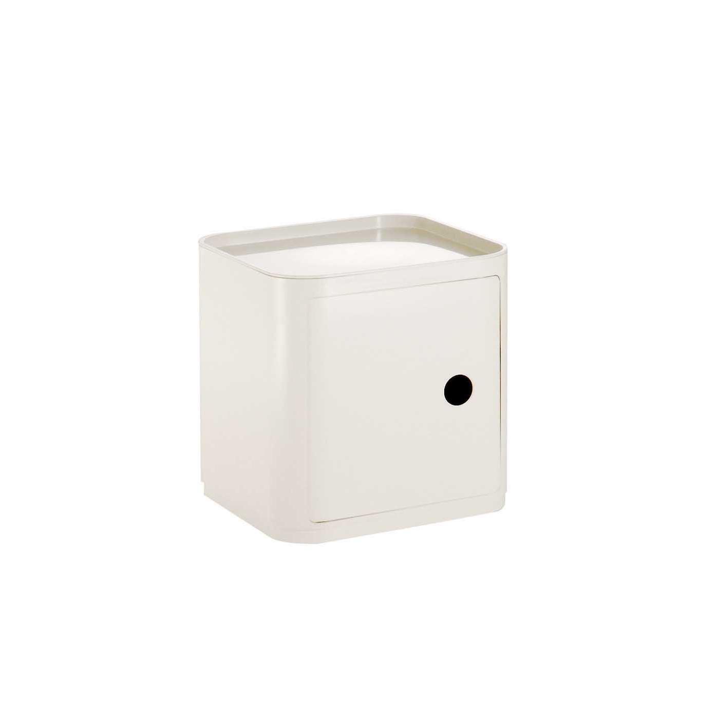Kartell Componibili module, one shelf, square