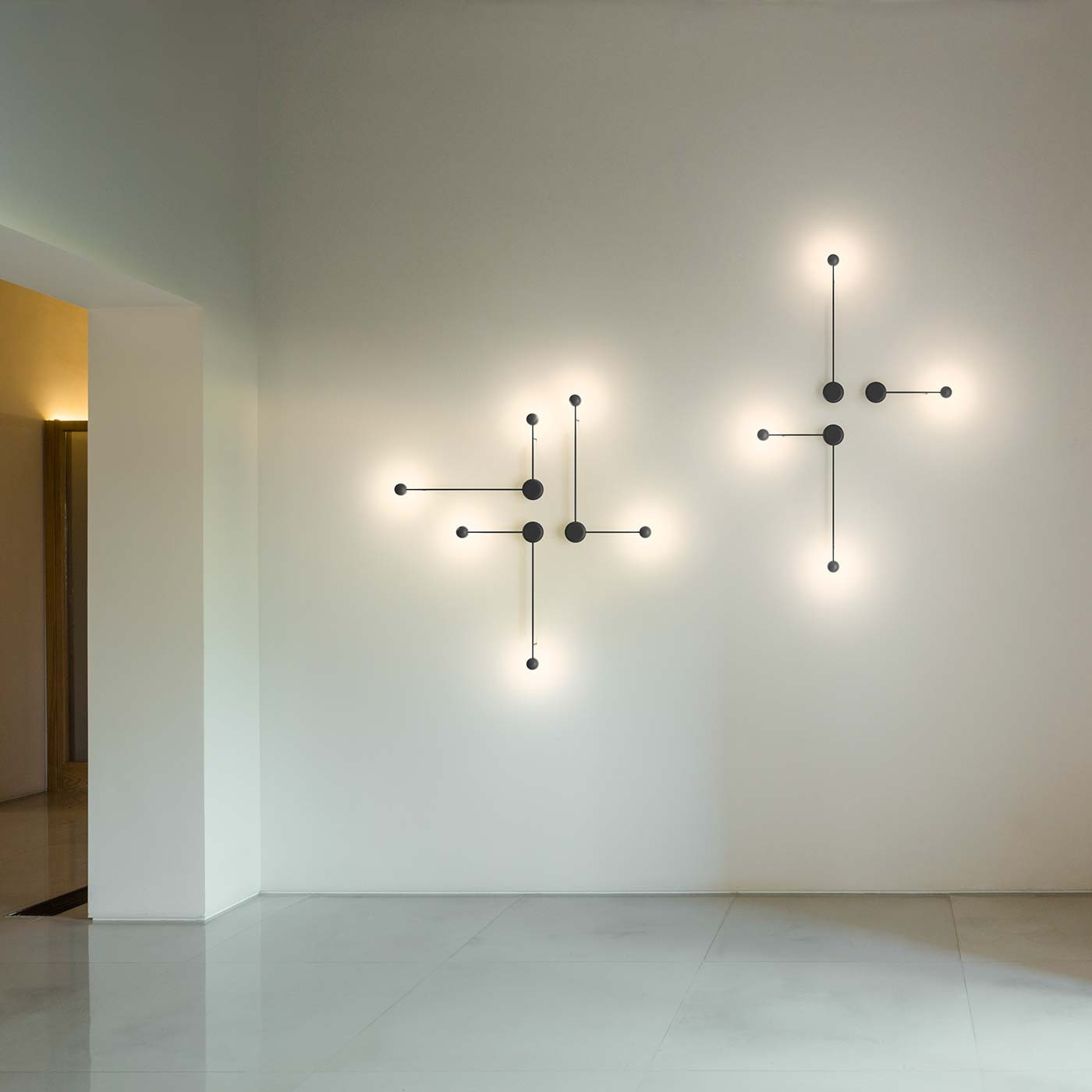 Vibia Pin 1690 Wall Light At Nostraforma