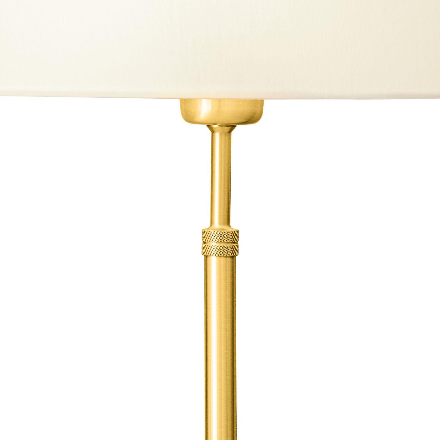 Holtkötter 6263 lampe de table, structure laiton mat
