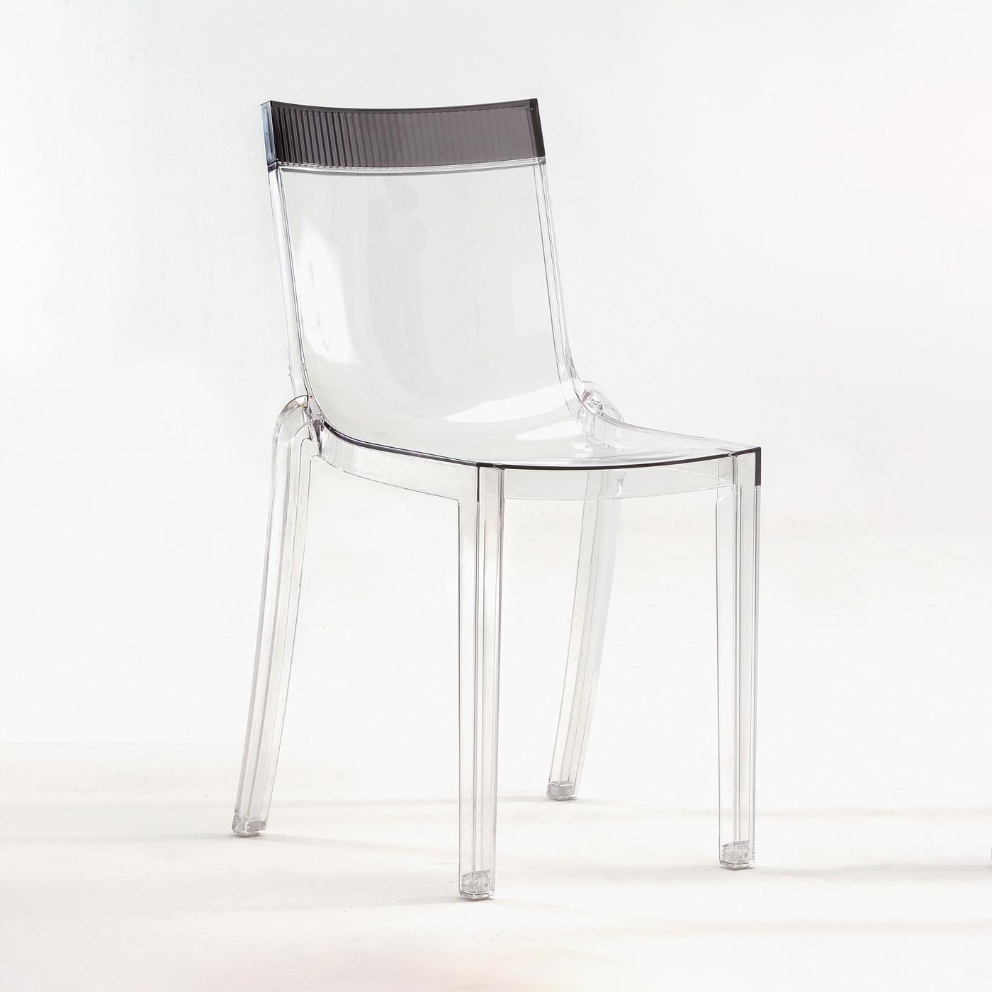 Kartell Hi Cut Chair Structure Transparent