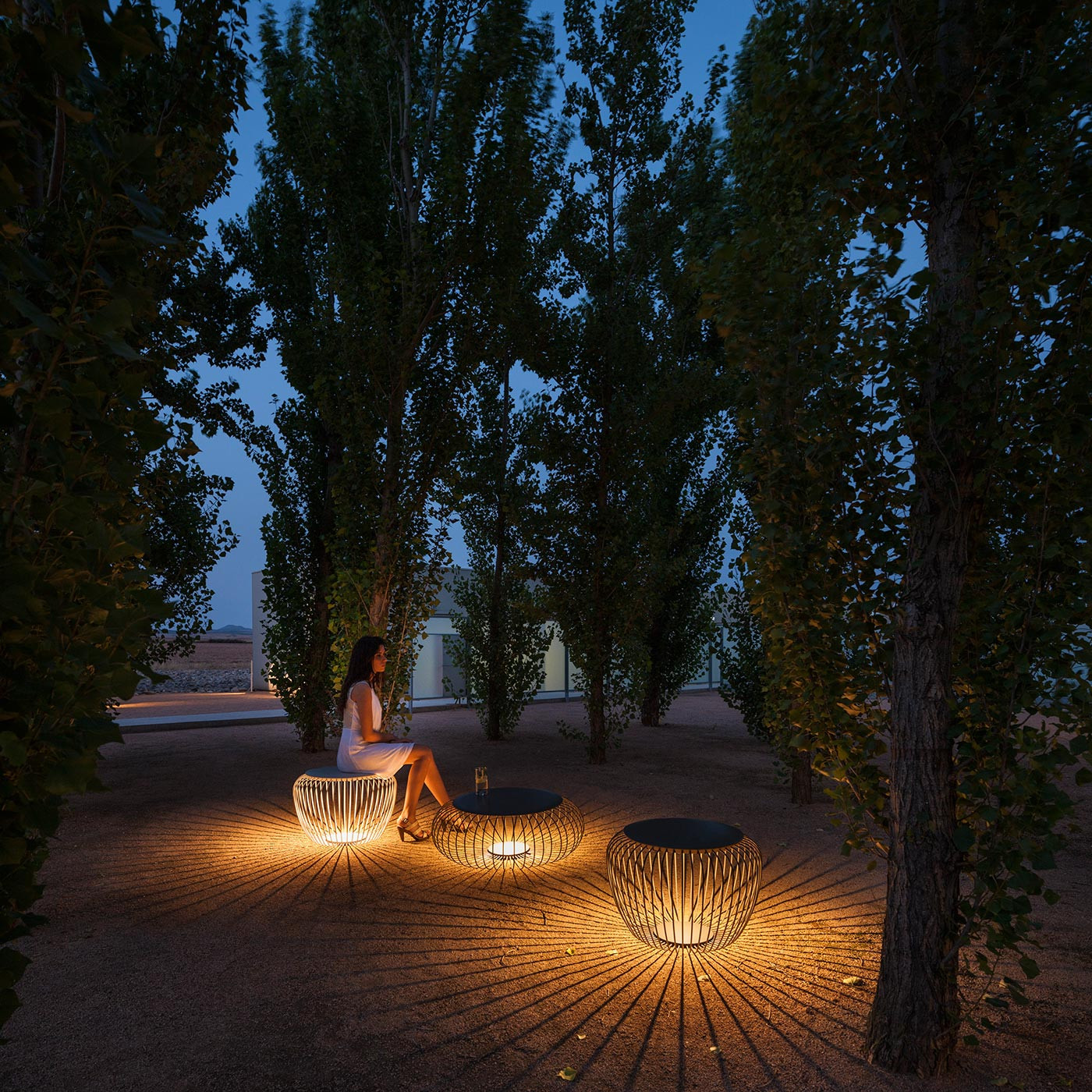 Picture of: Vibia Meridiano 4715 Outdoor Floor Lamp At Nostraforma