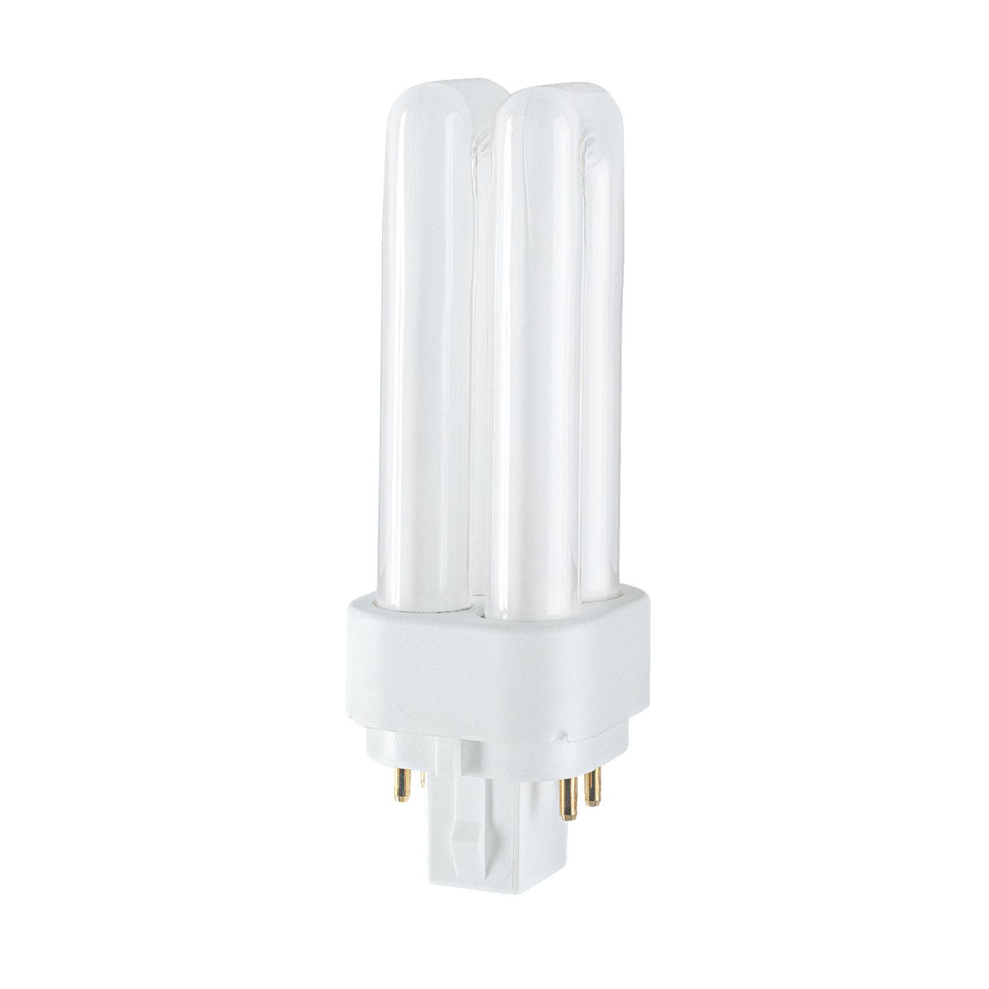 Osram Kompaktleuchtstofflampe Zweifach-Doppelrohr TC-DEL 26W/830 G24q-3 warmweiß