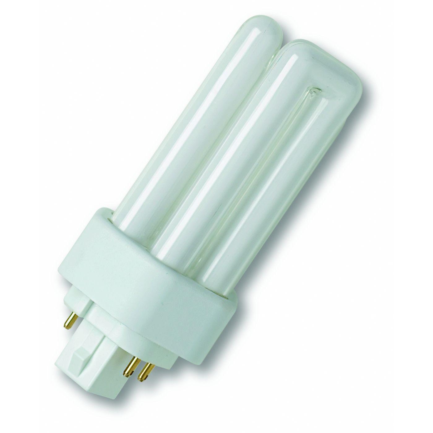 Osram Kompaktleuchtstofflampe Dreifach-Doppelrohr TC-TEL 42W/840 GX24q-4 kaltweiß