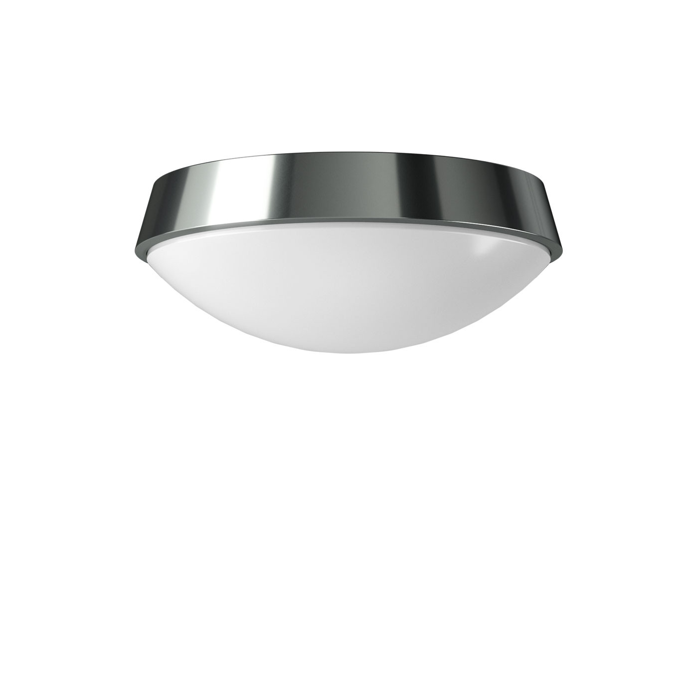 Bega 23100.3 / 23101.3 / 23102.3 / 23103.3 applique murale ou plafonnier LED, aluminium brillant
