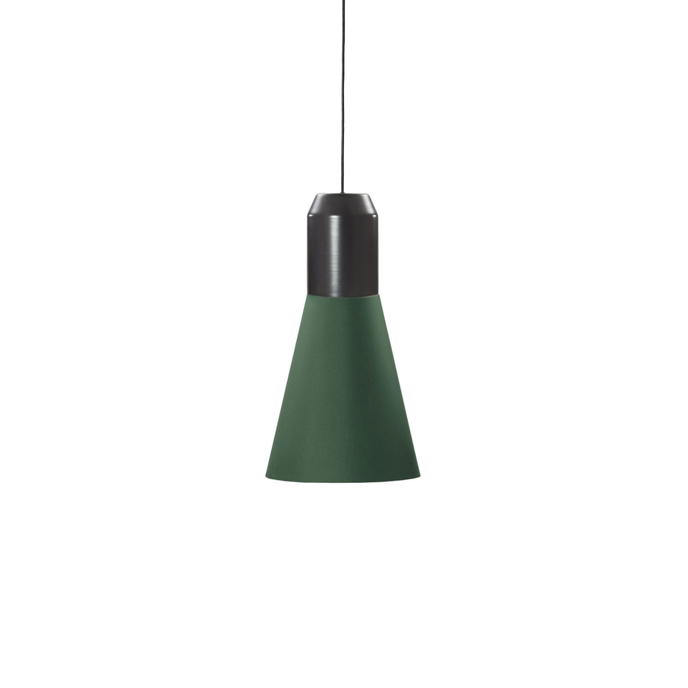 ClassiCon Bell Light Stoff Grün Pendelleuchte