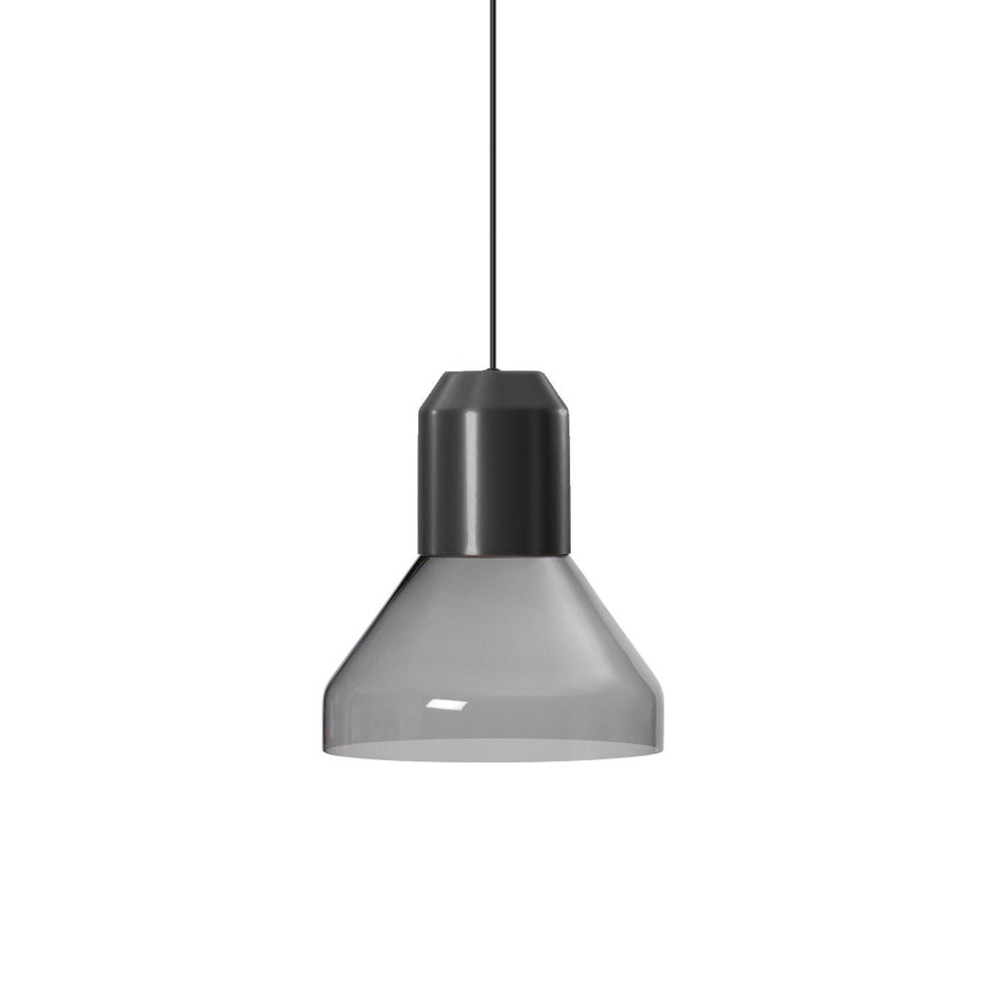 ClassiCon Bell Light Glas Grau Pendelleuchte