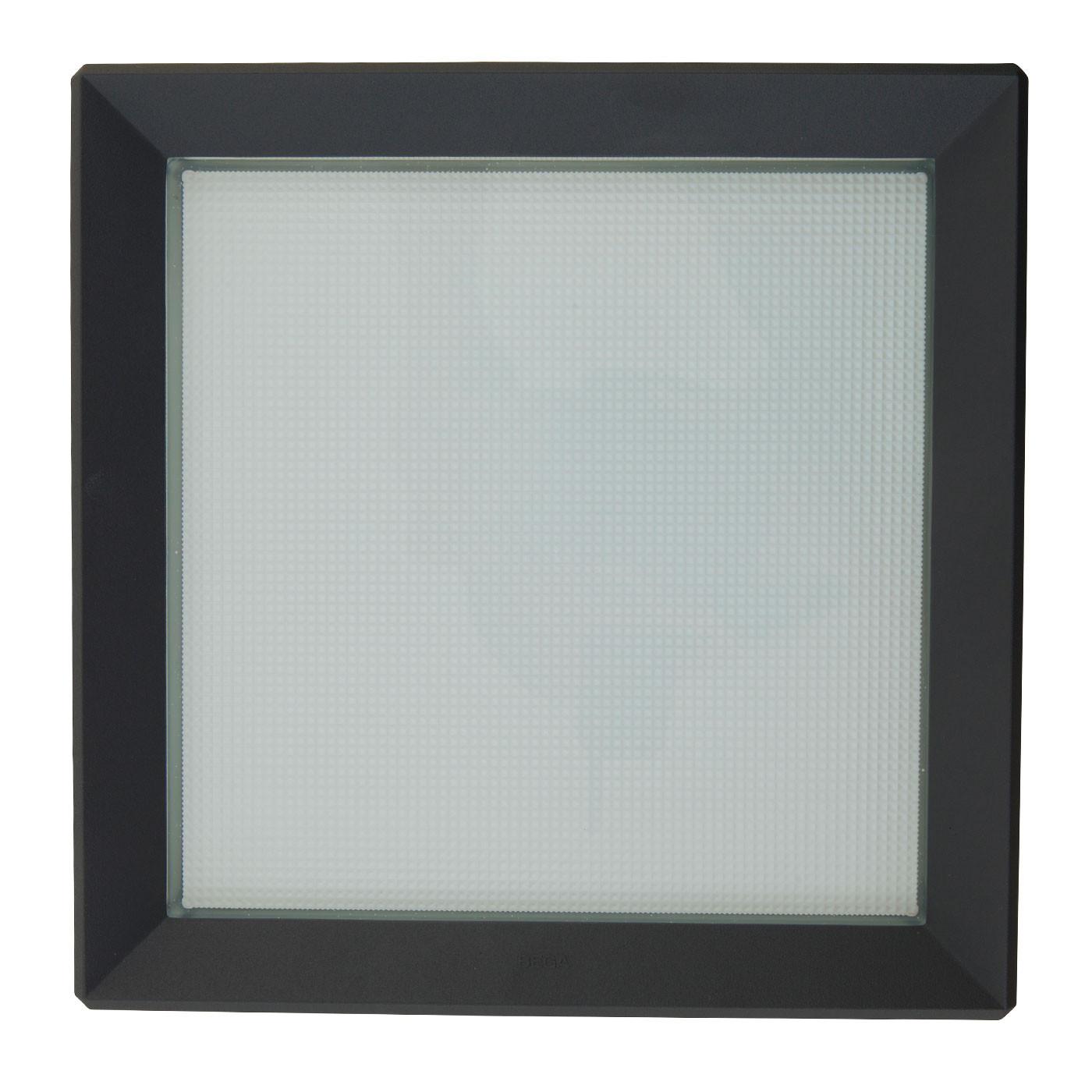 Bega 24397K3 LED Wand-Deckenleuchte mit Bewegungsmelder