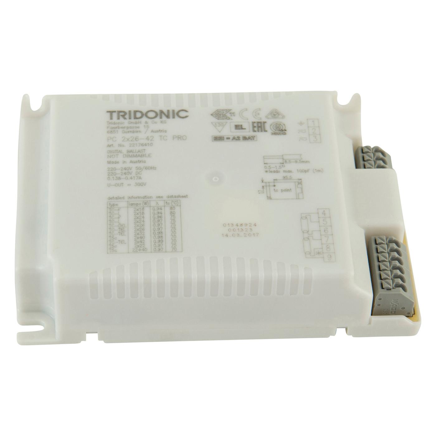 Flos Ersatzteile für Button FL   Teil 8 Elektronisches Vorschaltgerät  8W+82W 8/280V