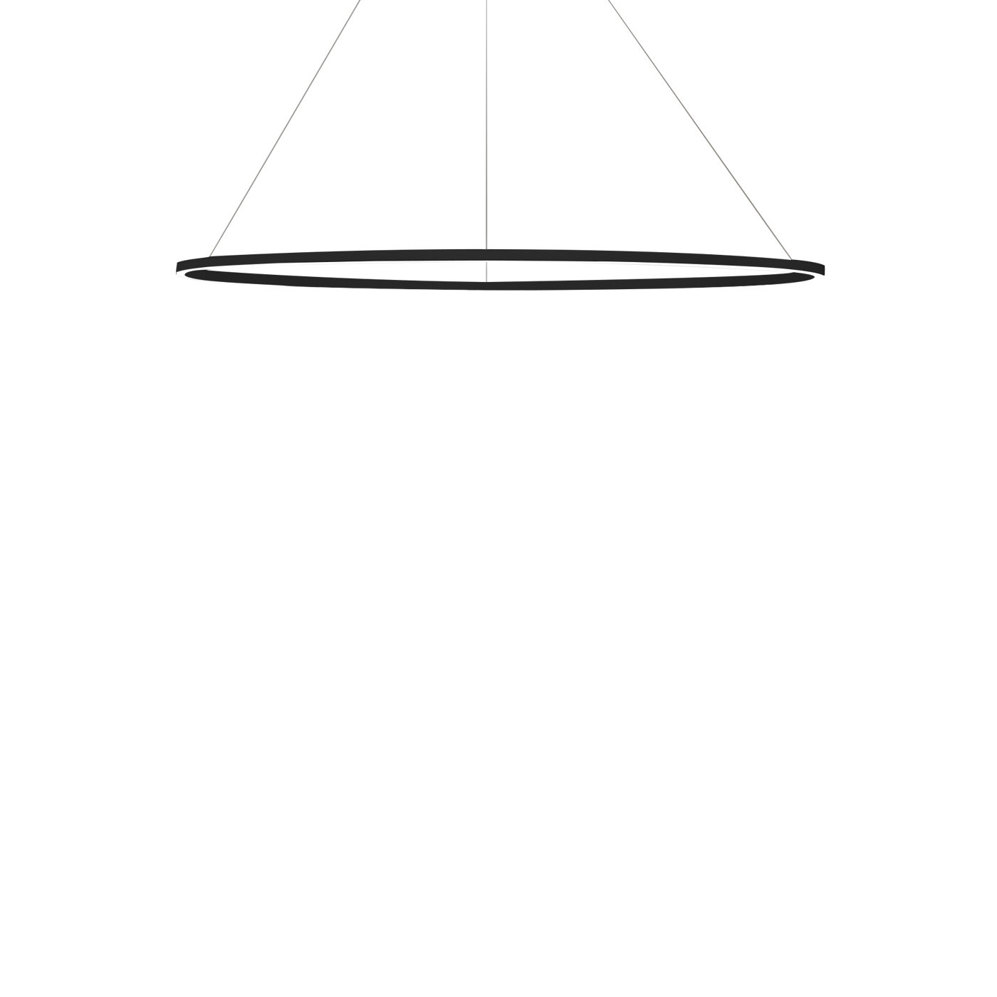 Nemo Ellisse Minor Down Pendant Light