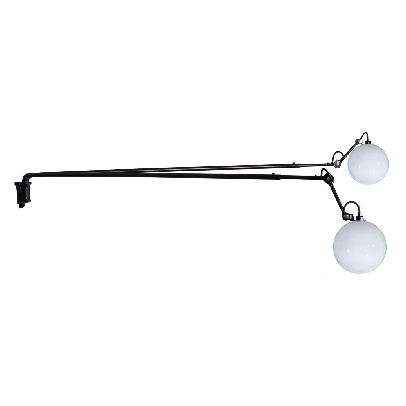 DCW Lampe Gras No 213 L Double Glass Ball 250