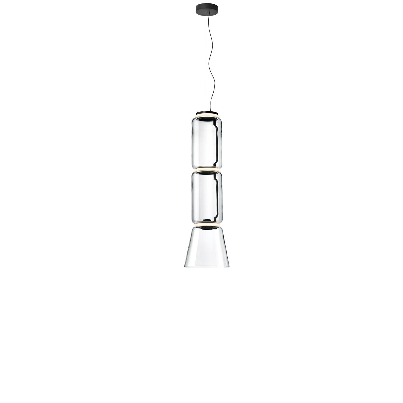 Flos Noctambule Low Cylinders & Cone LED