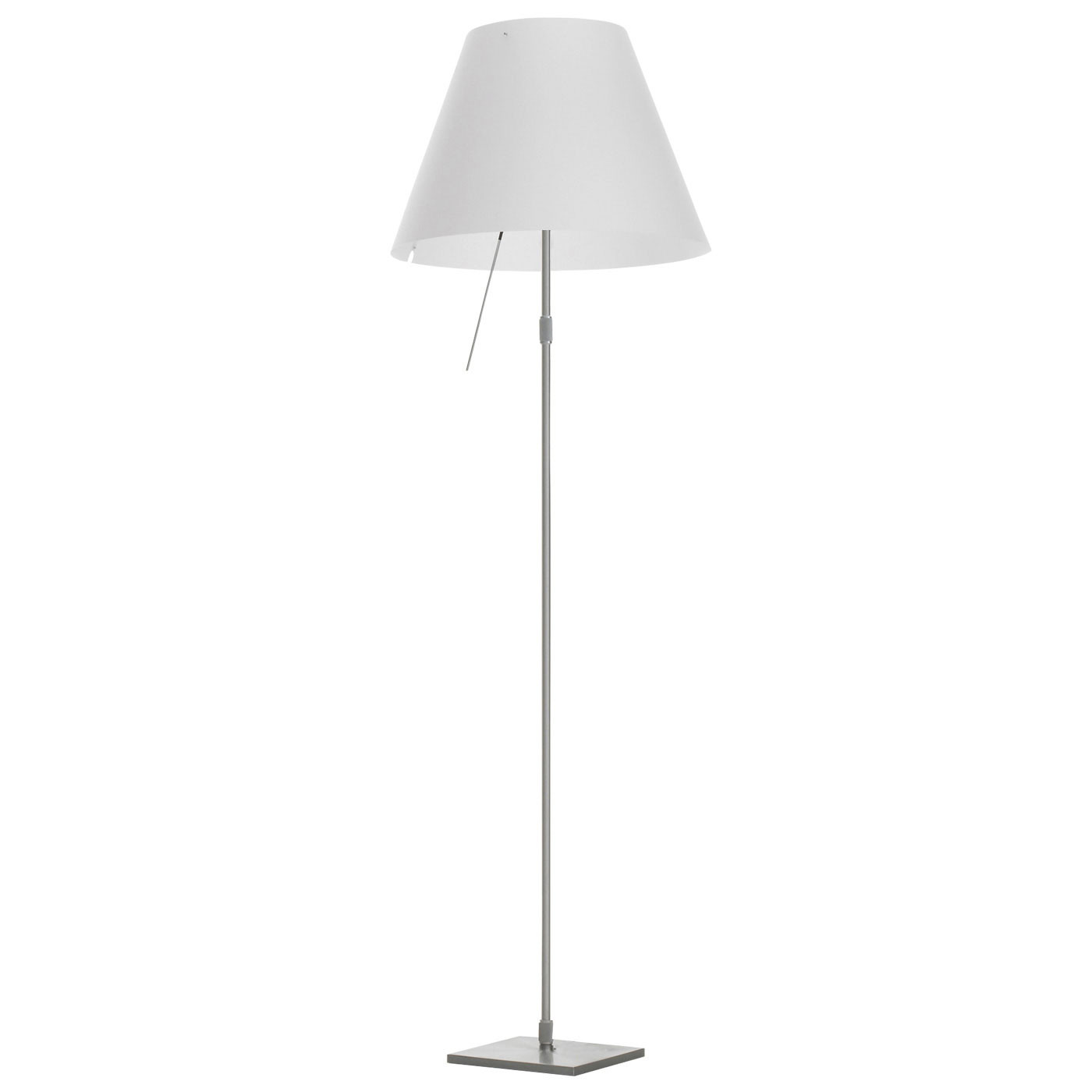 Luceplan Costanza Terra Alu with Dimmer