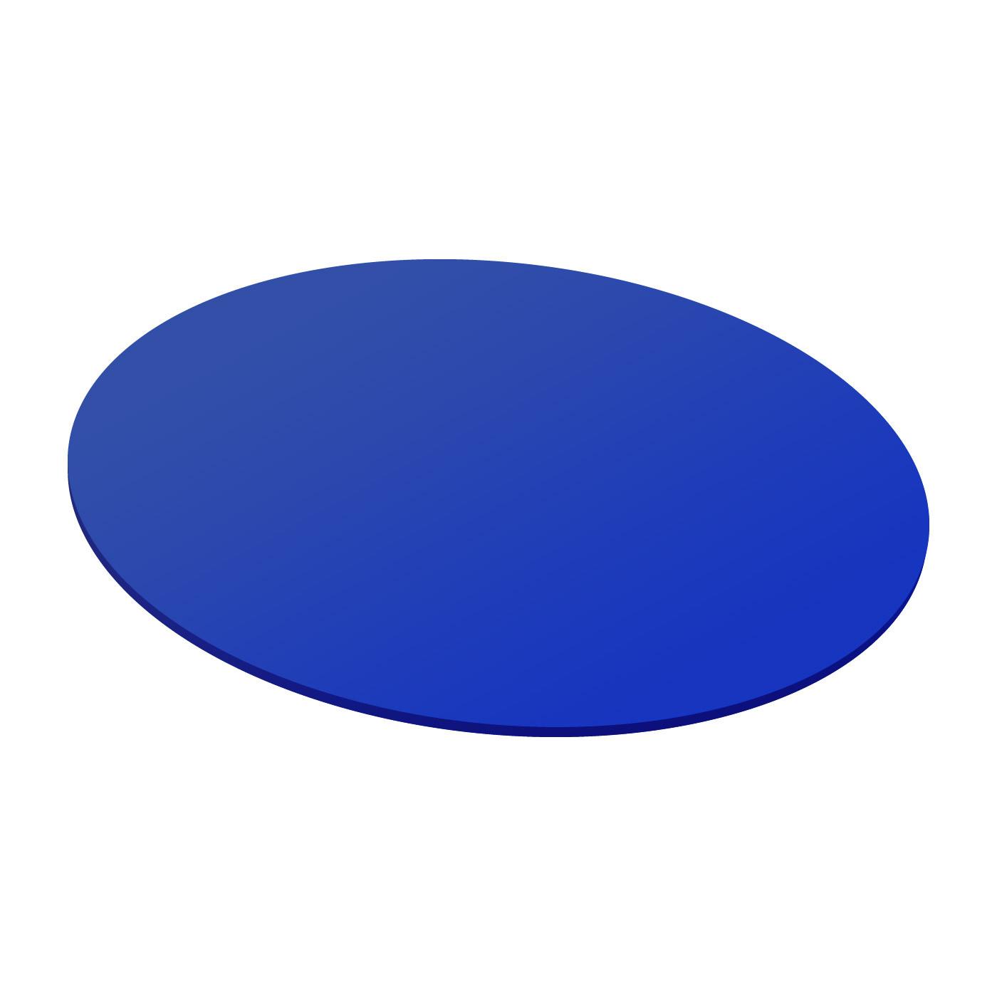 Cini & Nils Componi 75 disco Scheibe dichroitisch blau