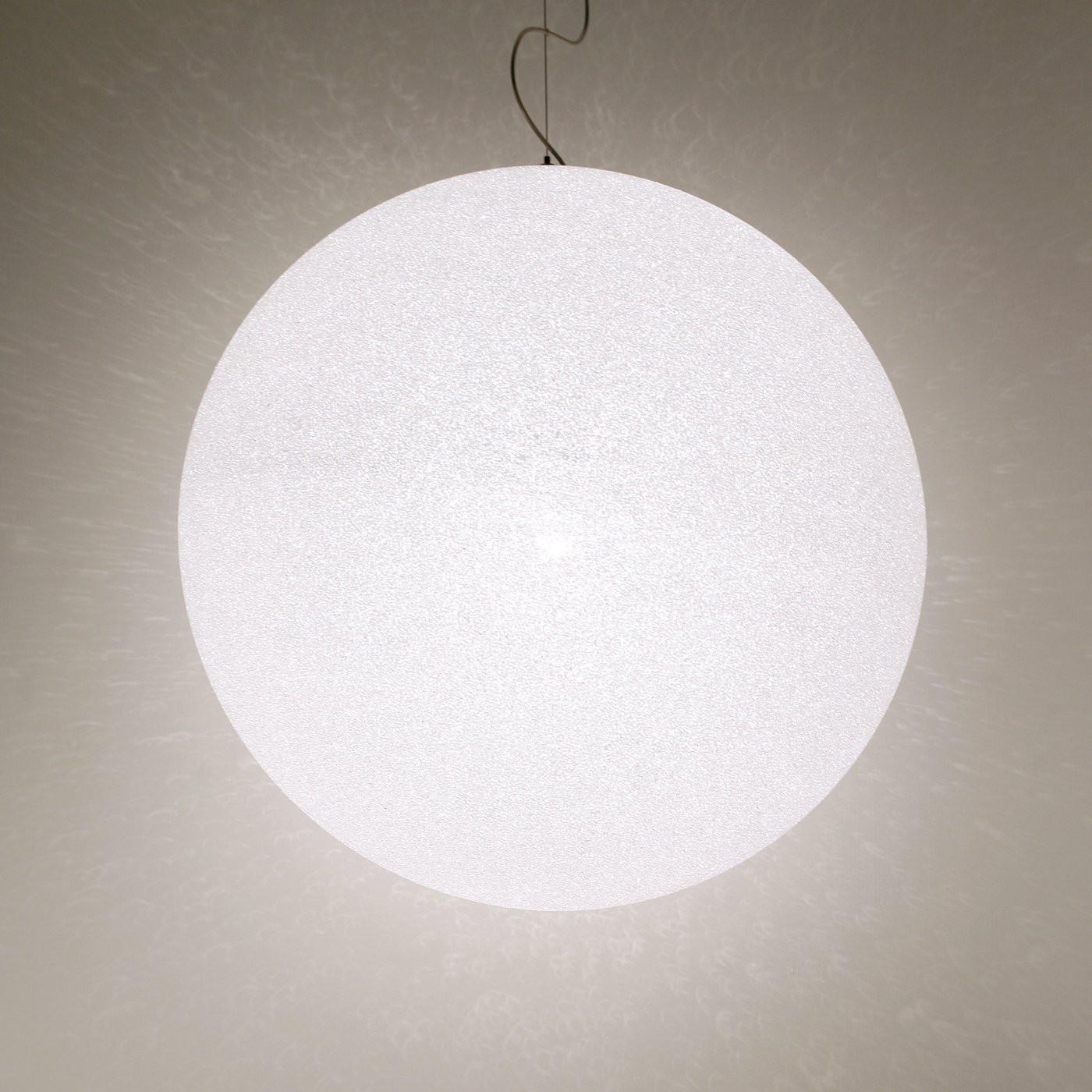 Lumen Center Italia Ice Globe Giant Pendant Light
