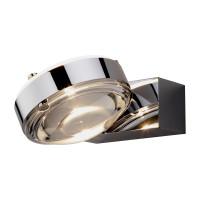 DeLight Logos LED 12 Wandleuchte WAV 2x6W Glasscheibe satiniert/Linse klar