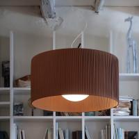 Morosini Fog 100 Plissé Pendant Light