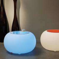 Moree Bubble Indoor LED Beistelltisch oder Hocker