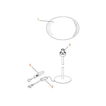 Ersatzteile für Glo-Ball T2