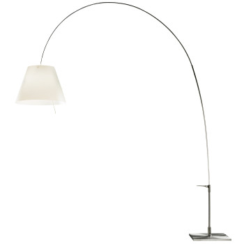 Luceplan Lady Costanza Terra Alu with Dimmer