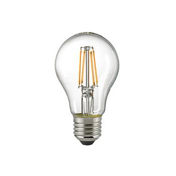 LED ampoule à filament de forme classique A67 11W 2700K 230V E27 transparente