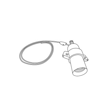 Costanza suspension replacement lampholder for telescopic arm