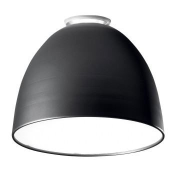 Artemide Nur Mini Soffitto, anthrazitgrau