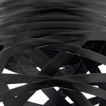 Foscarini Tress Piccola Parete, schwarz