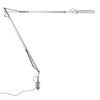 Flos Kelvin LED Desk Support mit verstecktem Kabel, verchromt