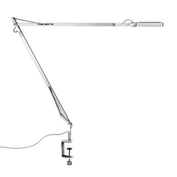 Flos Kelvin LED mit Tischklemme, verchromt