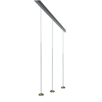 Anta Ny auf Schiene 194 cm, 3 Pendel ohne Höhenverstellung, Aluminium