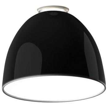 Artemide Nur Mini Gloss Soffitto, schwarz glänzend