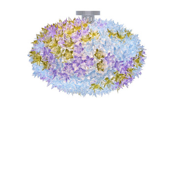 Kartell Bloom Deckenleuchte, lavendel (transparent)