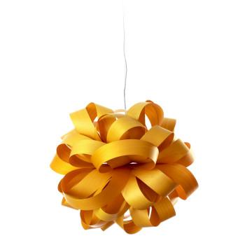 LZF Agatha Ball Pendelleuchte, gelb