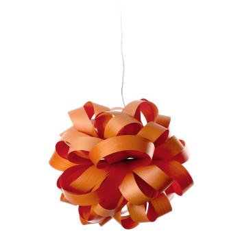 LZF Agatha Ball Pendelleuchte, orange