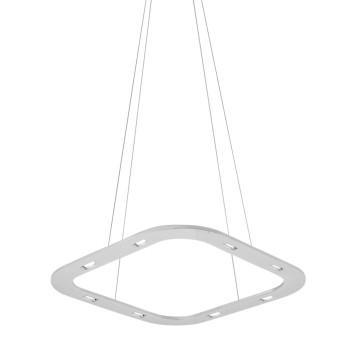 Byok Piani Quadro 48 Downlight Pendelleuchte, Aluminium matt, Baldachin B3 (mit LEDs)