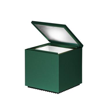 Cini & Nils Cuboluce, green semi-gloss